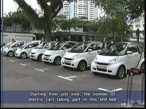 new car launches singaporeSingapore launches electric vehicle testbed  25Jun2011  YouTube