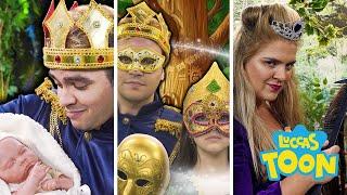 Luccas Neto e a história sobre príncipes e princesas