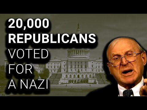 20,000 Republicans Voted for A Nazi
