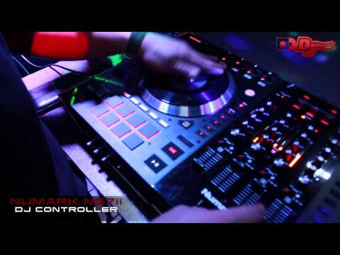 Numark NS7ii Scratching Demo