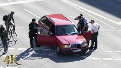 Driver forced out of car by German police during G20 traffic incident