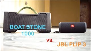 JBL flip 3 vs Boat stone 1000 best portable speakers in this year