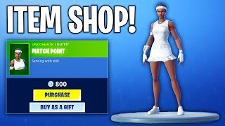 NEW MATCH POINT SKIN! Fortnite ITEM SHOP! (June 30th 2019)
