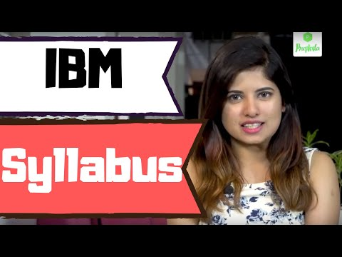 IBM Syllabus And Test Pattern 2019 - 2020
