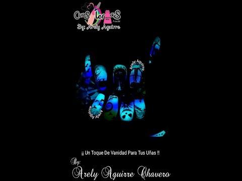 Diseños de Halloween con A Nails por Arely Aguirre