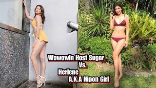 WOWOWIN HOST Hipon Girl HERLENE VS. SUGAR MERCADO.   Princess Gevie Life  