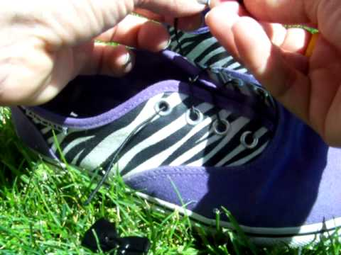 Elastic Laces In Your Shoes Tutorial