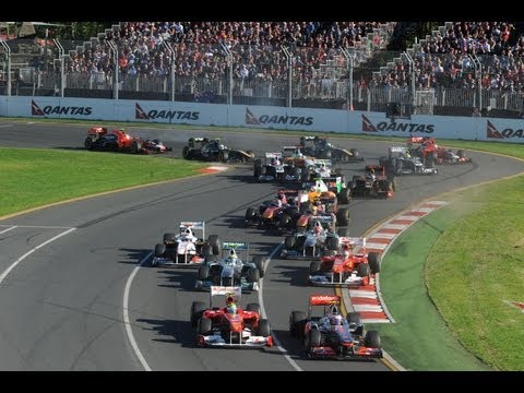 HD Formula One World Championship - Gara #1 - Melbourne Australia
