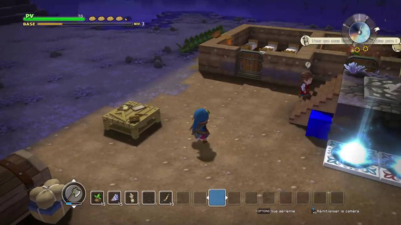 Dragon quest builders salle d'eau chapter 2