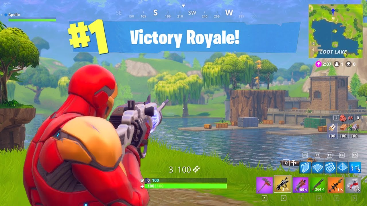 I went back to Fortnite SEASON 1 for a DAY!