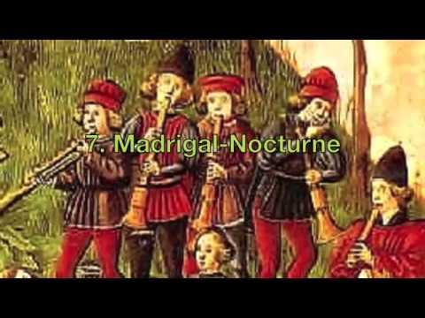 Milhaud, Cheminée du roi René, Soni Ventorum (with score)