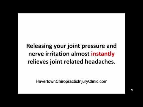 Headaches, Chiropractor, Havertown Pennsylvania