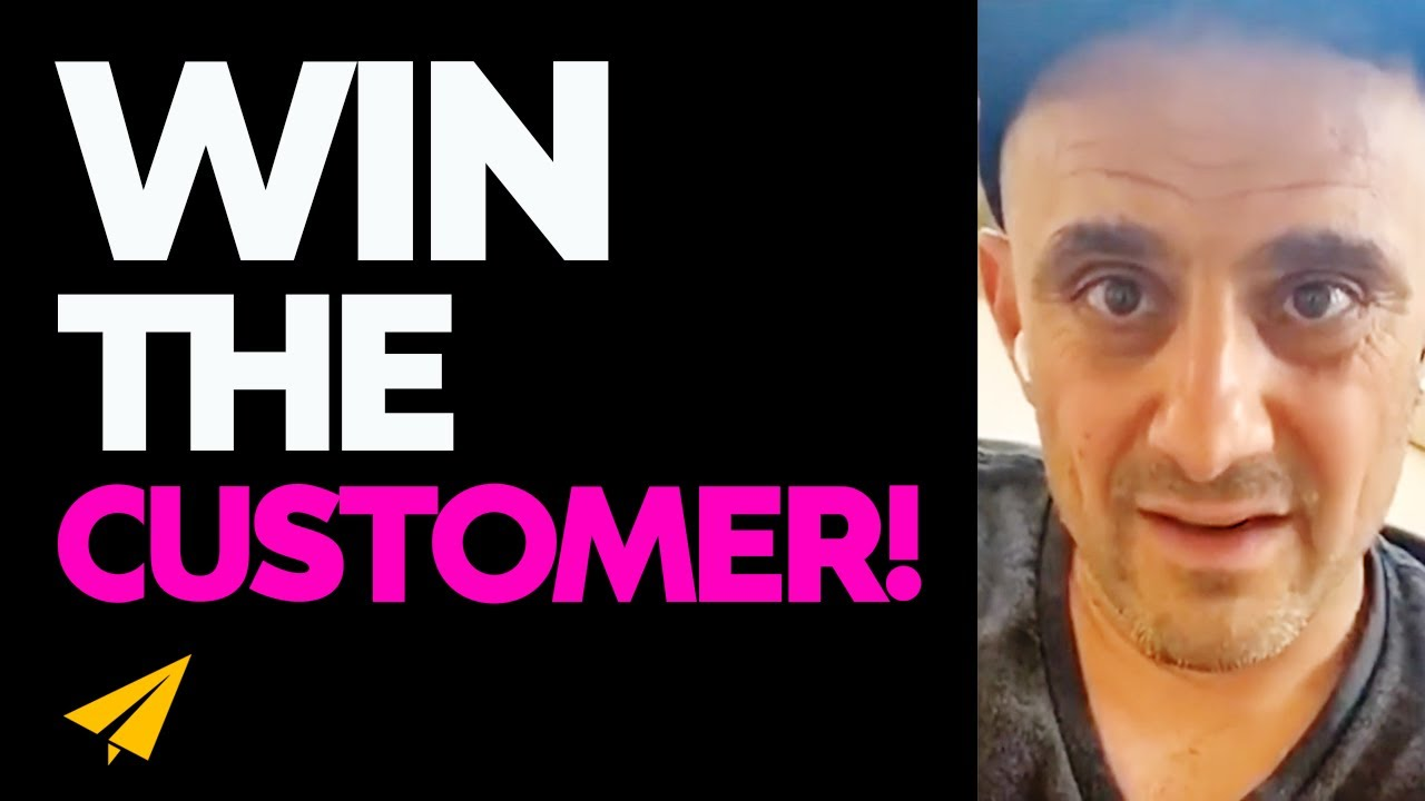 How to WIN the CUSTOMER! - Gary Vaynerchuk Live Motivation