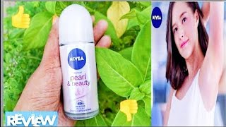 Nivea pearl and beauty deodrant underarm roll on review Nivea pearl and beauty deodrant rollon