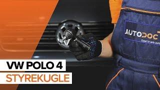 Tips til udskiftning Styrekugle VW