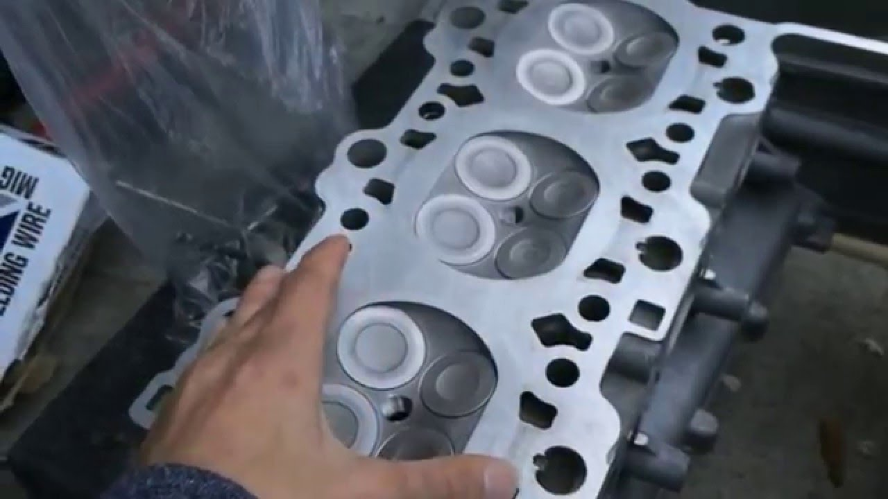 2002 Porsche 911 996 Valve Replacement and Cylinder Head Cleaning
