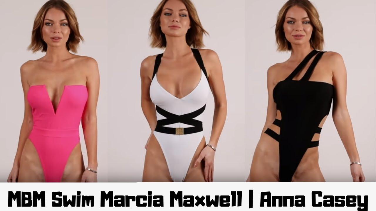 Sexy Bikini Try On haul 2019 MBM Swim Marcia Maxwell   Anna Casey