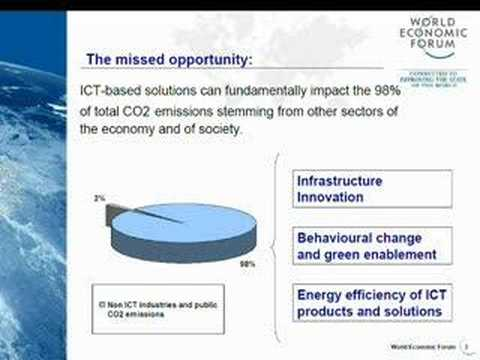 World Economic Forum work on ICTs and Climate Change