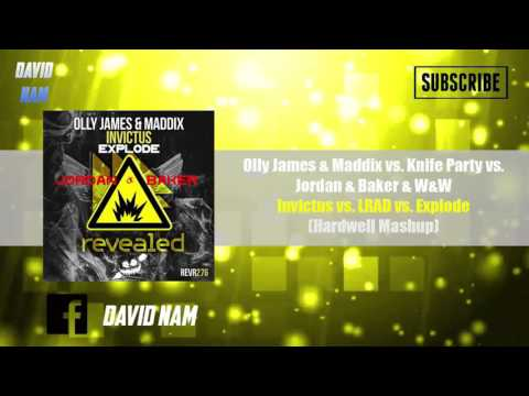 Invictus vs. LRAD vs. Explode (Hardwell Mashup) [David Nam & Deniel Reboot]