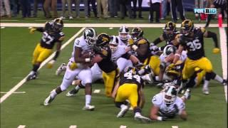 LJ Scott Go-Ahead TD vs. Iowa
