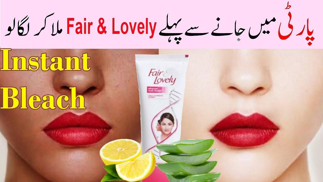 Fair & lovely Cream Formula to Get Beauty & Fairness  Fairness