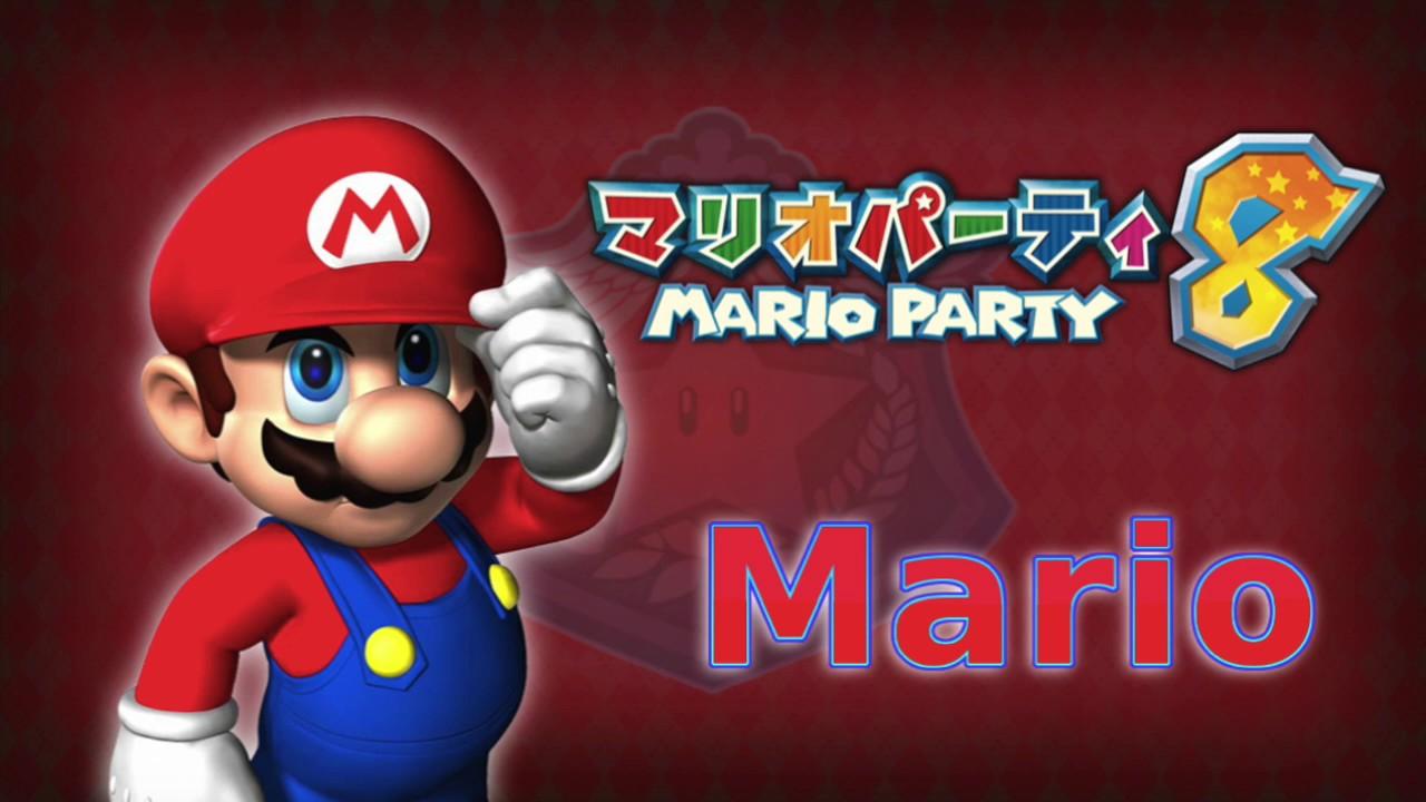 Mario Party 8 Mario Vo...
