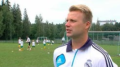 Ilves jalkapallon Real Madrid Foundation Clinic-jalkapallokoulu Tampere 7.7.-11.7.2014