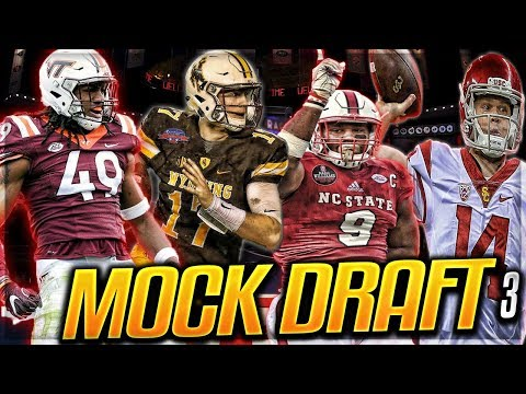 Barkley Falls + Browns Have Browns-like Picks? | 2018 NFL Mock Draft 3.0