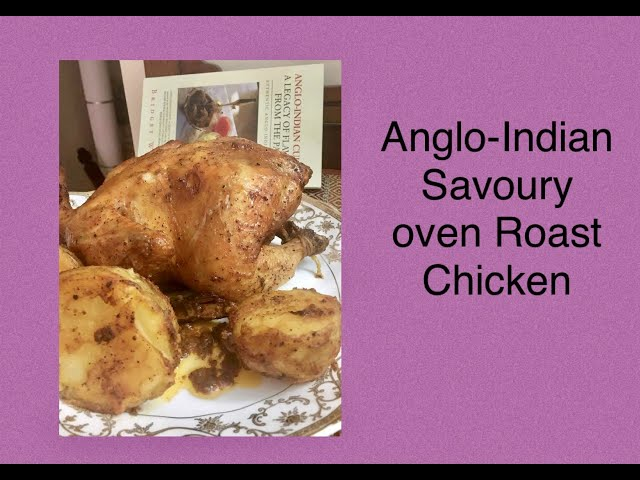 ANGLO-INDIAN CHICKEN OVEN ROAST / EASY CHICKEN ROAST / OVEN ROASTED CHICKEN / SPICY CHICKEN ROAST