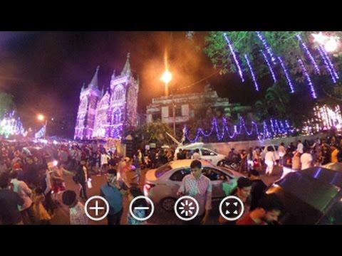 Christmas At Mount Mary Church In Mumbai: 360-Degree Video