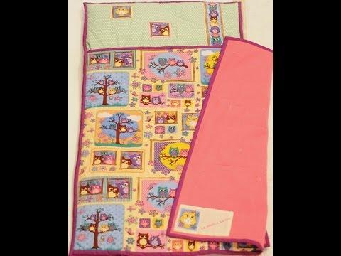 Como hacer una bolsa de dormir con la t cnica de quilting - Como hacer pachwork ...