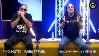 PINO SCOTTO 🔥 FABIO TREVES LIVE SU ROCK TV 🤘🏻📲 19 FEBBRAIO 2019