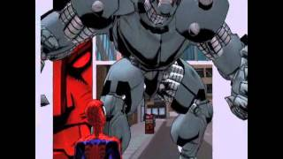 Ultimate Spiderman Cap 3-lotta con rhino.