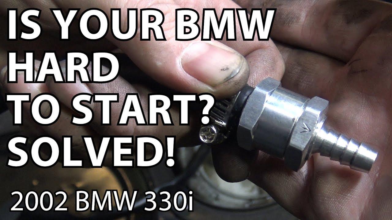BMW E46 & E39 Inline Check Valve