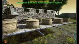 ARK: Crop Plots Reservoirs and Compost Bins