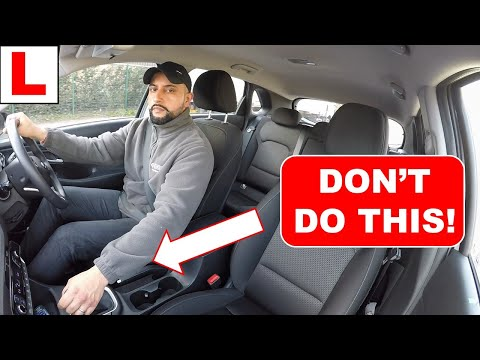 How To Move & Stop A Car   Common Driving Faults   Home Learning Driving Lesson #1