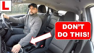 How To Move & Sтop A Car | Common Driving Faults | Home Learning Driving Lesson #1