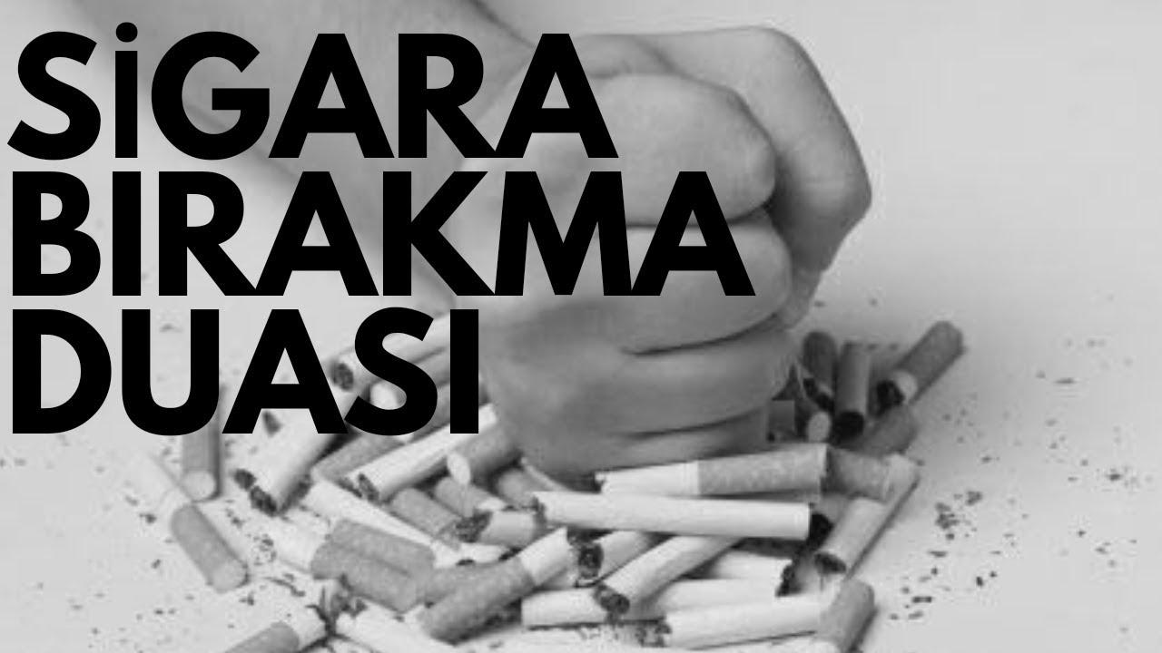 Sigarayı bırakmak için 5 öneri