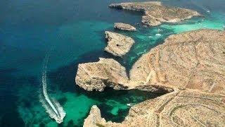 Travel Video. Bird's Eye View Of Malta Island / Воздушная Прогулка. Полёт над Мальтой