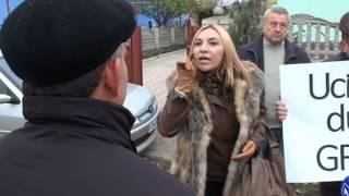 Curaj.TV - Protest la Hîrbovăt, Anenii Noi
