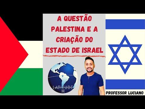 A QUESTÃO PALESTINA E A CRIAÇÃO DO ESTADO DE ISRAEL