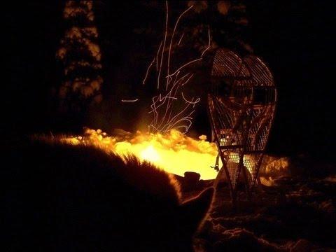 Skanderna 2013   med Siberian Huskys från Grövelsjön till Treriksröset med släde