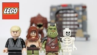 LEGO Rancor Pit Star Wars Review Unboxing 75005