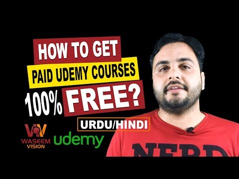 Get Paid Udemy Courses 100% FREE - 2017 (URDU/HINDI)