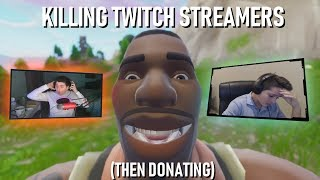 Killing Twitch Streamers (Then Donating!) thumbnail