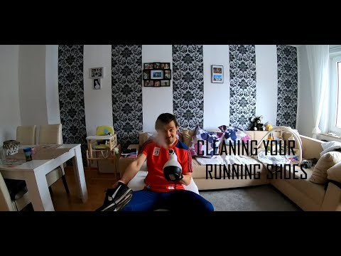 How to perfectly clean your running shoes without spoiling them