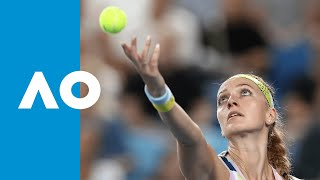 Katerina Siniakova vs. Petra Kvitova - Match Highlights | Australian Open 2020