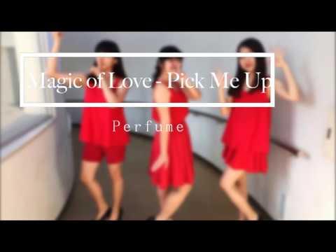 Magic of Love - Pick Me Up(Perfume)covered by Icsy 近接カメラ