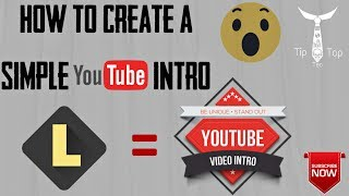 How to Create a YouTube Simple Intro(Tamil)