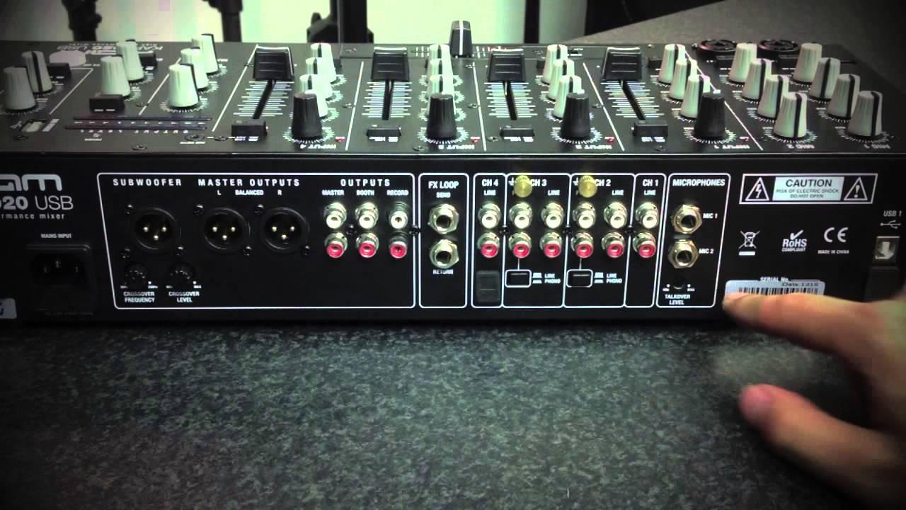 kam kap2020 usb 10 input dj mixer with usb playback youtube. Black Bedroom Furniture Sets. Home Design Ideas